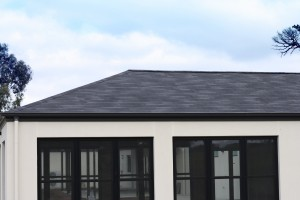 asphalt shingles for home, gazebo and pergola roofing